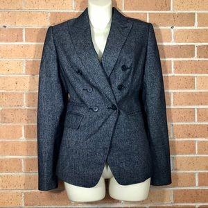 Ann Taylor Blazer charcoal size 4 jacket